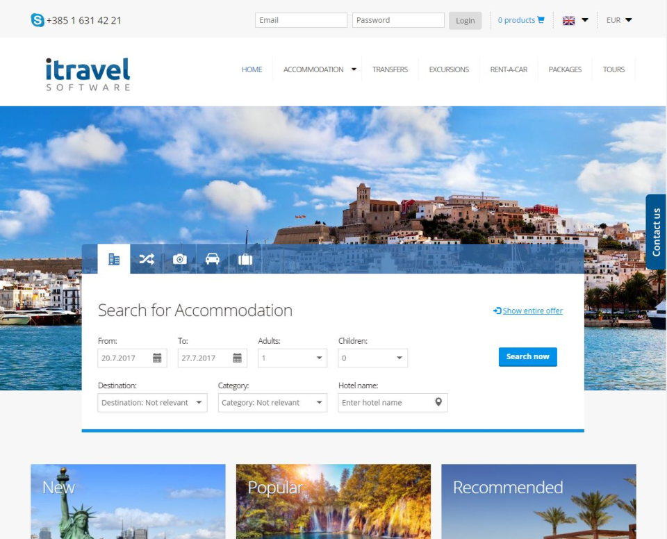 Online booking - allow your passengers or travel agents to find for all your products on your B2B or B2C website.