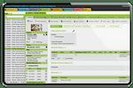 Schermopname van ezyVet: Record details in a customized and reportable format