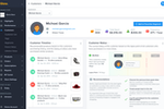Glew Screenshot: Customer profiles