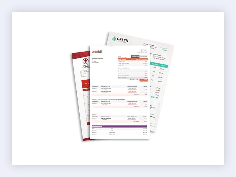 OneBill Subscription Billing Platform Software - 4