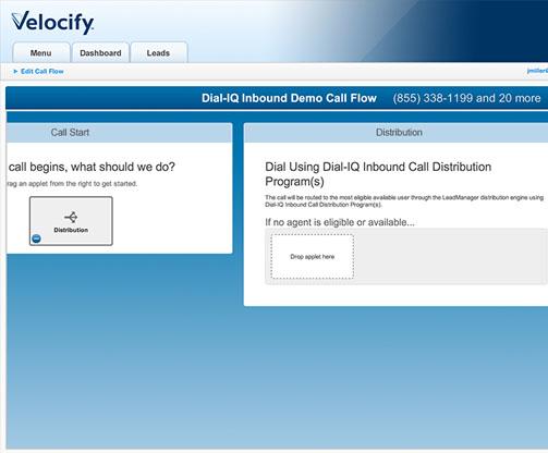Velocify-SalesManagement-Dashboard
