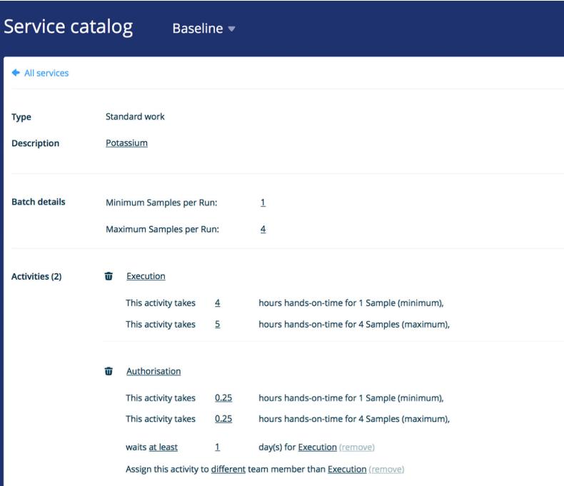 BINOCS Software - Binocs service catalog