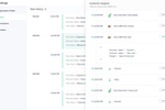 Zoho Flow screenshot: Keep a centralized log of each workflow's history to track the progress of each action, and identify problems as soon as they occur