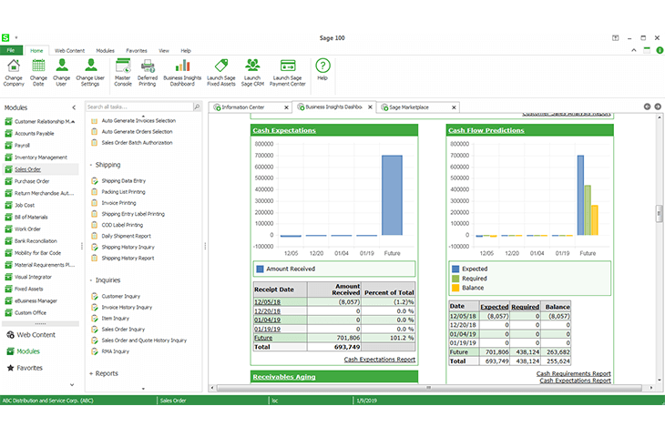 Sage 100cloud Software - 4