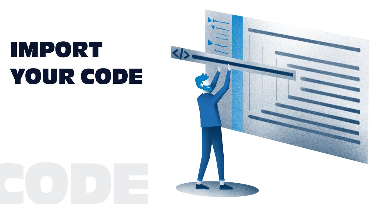 Code Import