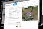 BigChange screenshot: Built-in, integrated CRM