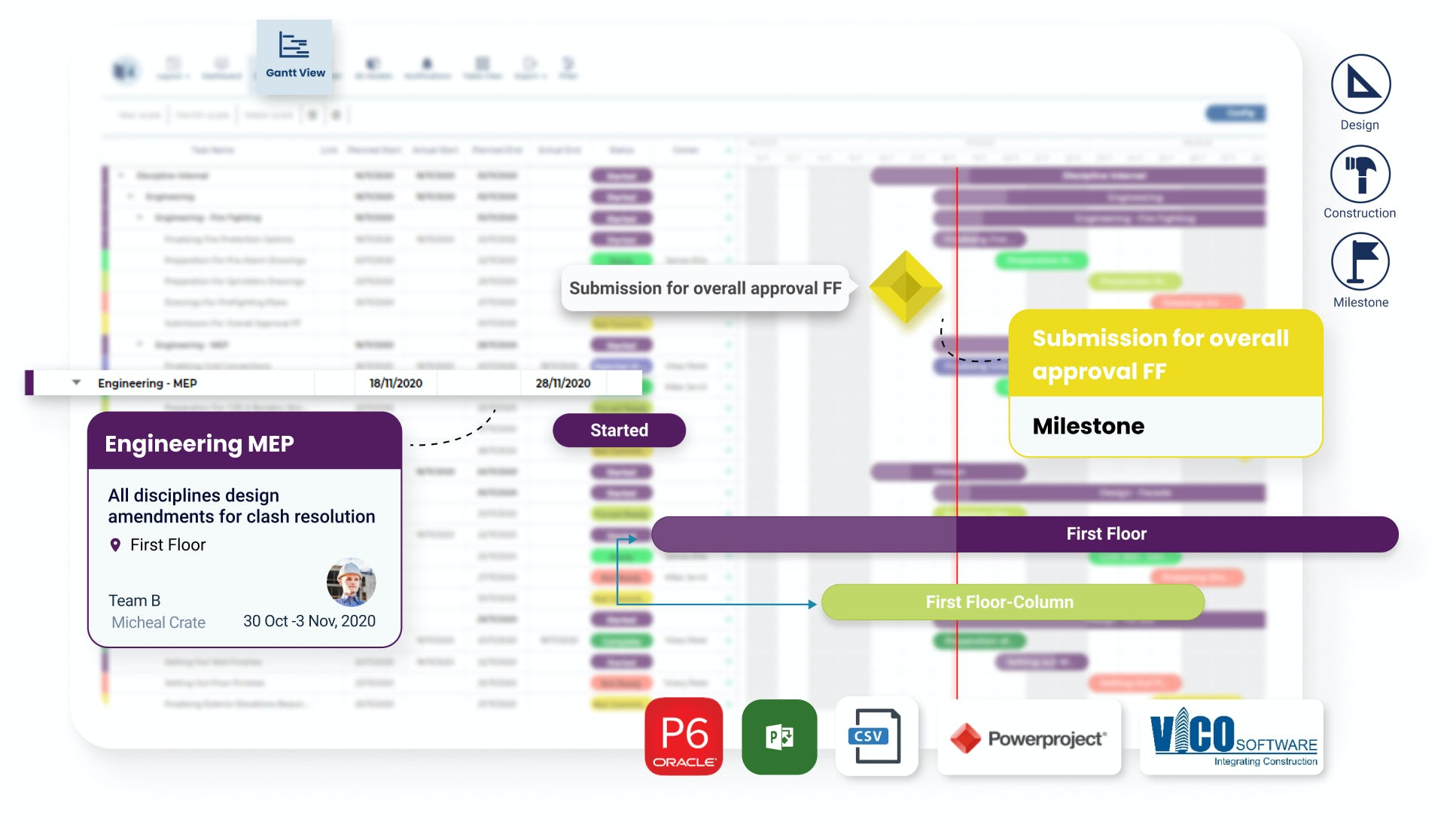 VisiLean Software - Dynamic planning with VisiLean