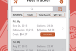AUTOsist screenshot: Track fuel & monitor MPG