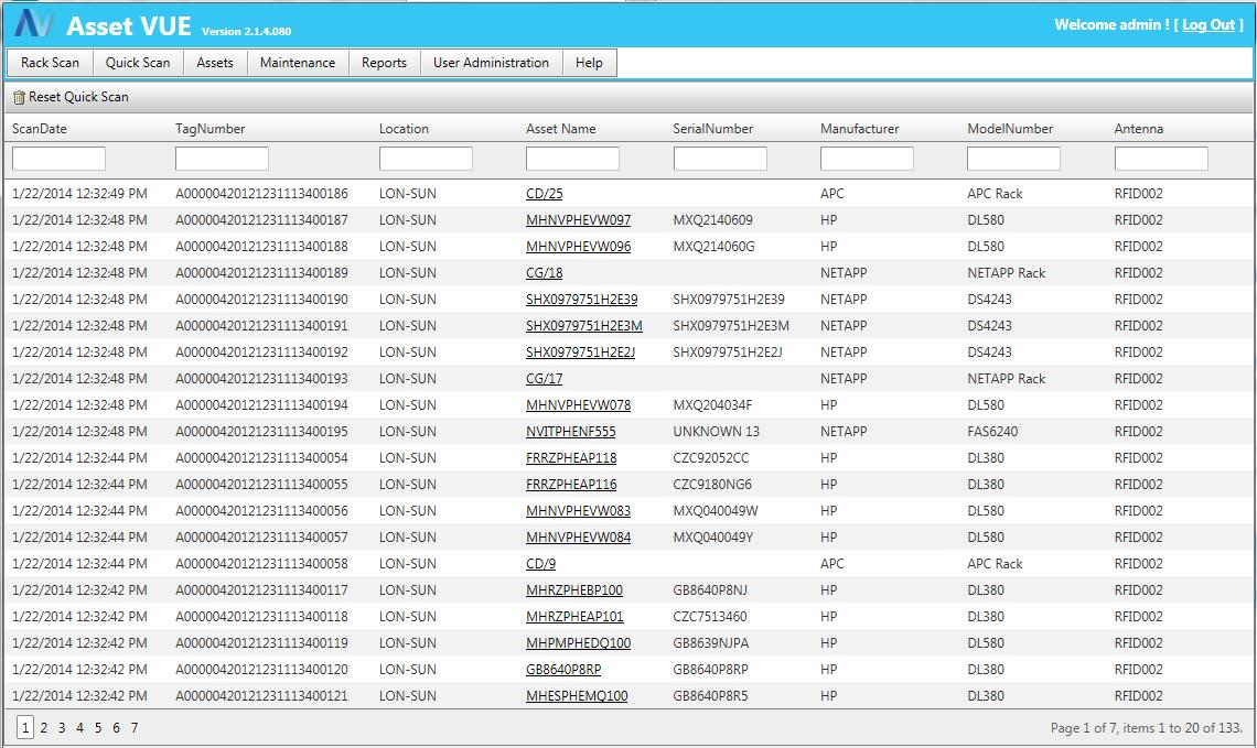 Asset Vue Inventory Software - Asset Vue Quick Inventory Overview