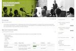 Totara Learn screenshot: example course page in Totara Learn