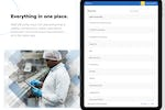 Captura de pantalla de Weever Forms: Everything in one place.   Staff efficiently input rich data pertaining to quality, maintenance, safety, operations, production and continuous improvement ... all in the same app.
