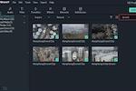 Filmora screenshot: Filmora export