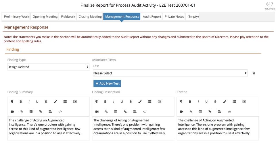 Auditrunner Software - End to end Audit