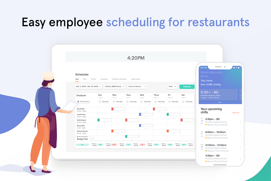 7shifts Software - Build perfect schedules in just a few clicks