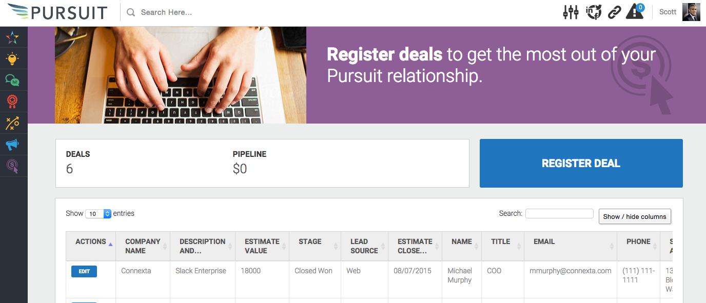 Allbound Software - Deals