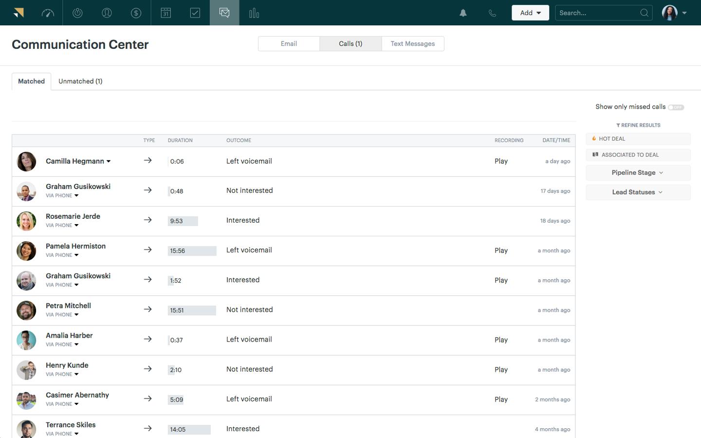 Zendesk Sell communication management