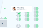 Captura de pantalla de Robin: Arrange and manage office seating plans online