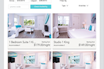 Frontdesk Anywhere Screenshot: Frontdesk Anywhere offers users a customizable booking engine which can be used on their website and Facebook page