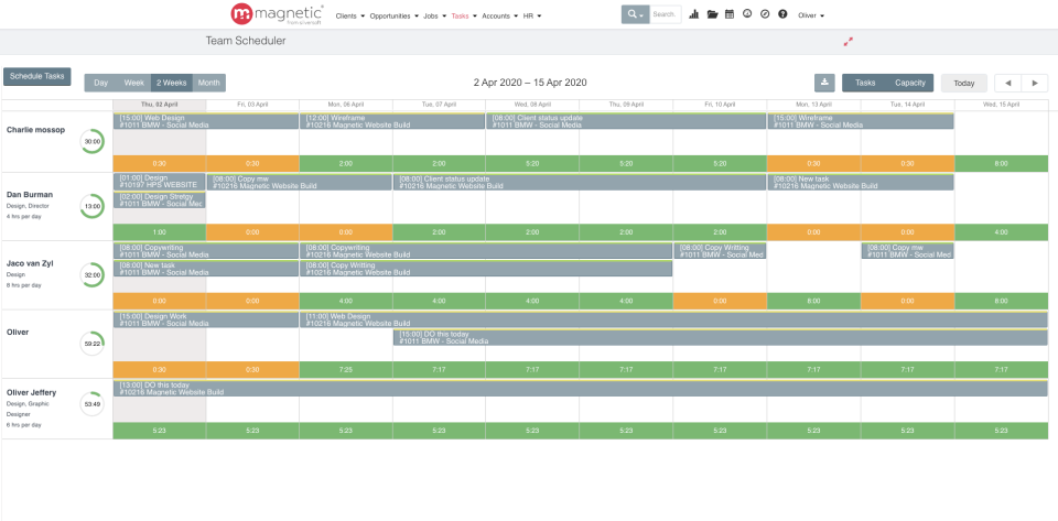 Magnetic Software - Easy Scheduling