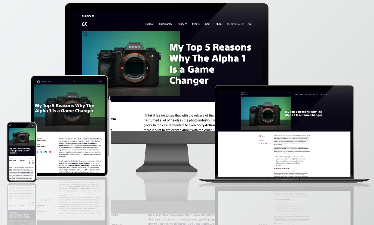 Send content to any device from one content hub using Zesty.io. Build websites with Zesty.io or send content to virtually any application. Preview across devices before launching.