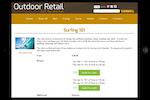 Capture d'écran pour Rain POS : Rain Point of Sale outdoor retail screenshot