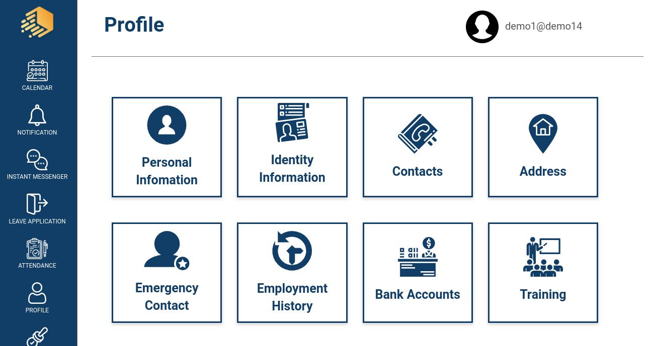 IJS HR dashboard