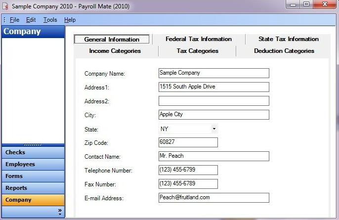 Payroll Mate Software - Company information