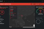 DarkCubed screenshot: Dark Cubed threat inspection