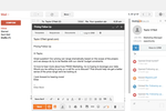 HubSpot Sales Hub screenshot: View prospect contact information, social media profiles, company information and more, right alongside emails