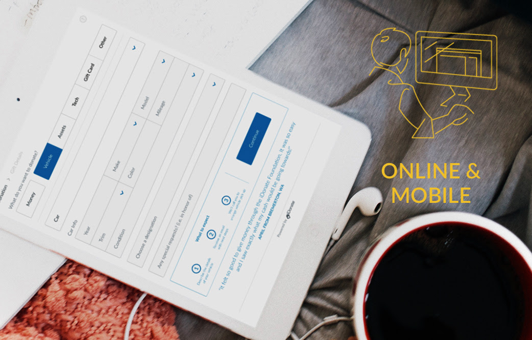 Online & Mobile Giving