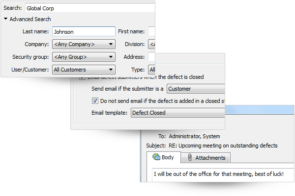 The tool allows customer feedback to be acknowledged, incorporating feature requests into development with email importing and parsing capabilities