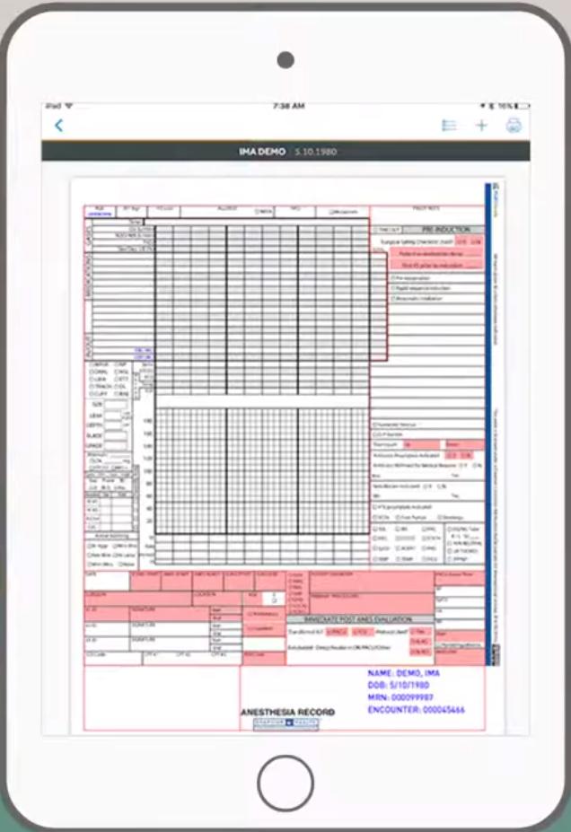 Graphium Health dashboard