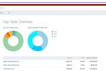 Capture d'écran pour Captable.io : Captable.io cap table overview