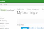 ShareKnowledge screenshot: ShareKnowledge learner portal screenshot