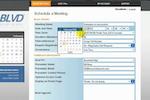 eBLVD Online Meetings screenshot: