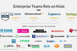 Kixie PowerCall screenshot: Trusted by thousands of teams worldwide