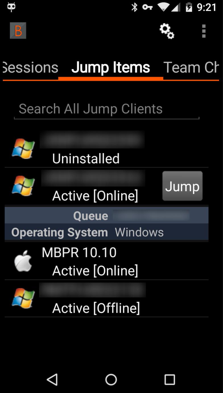 Remote Support screenshot