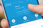 Capture d'écran pour Planday : Mobile check-in and check-out