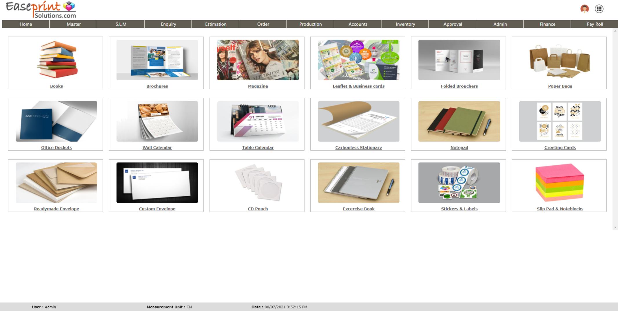Easeprint Software - COMMERCIAL ESTIMATION