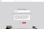 Tailor Brands screenshot: Tailor Brands client profile information screenshot