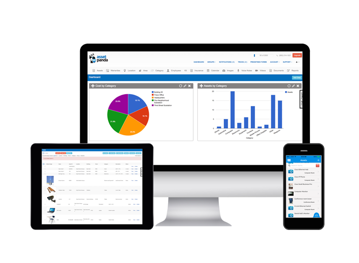 Asset Panda Software - Asset Panda multiple devices