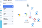 Verto Flow screenshot: Verto Flow Circle of Care, Transition and Handover