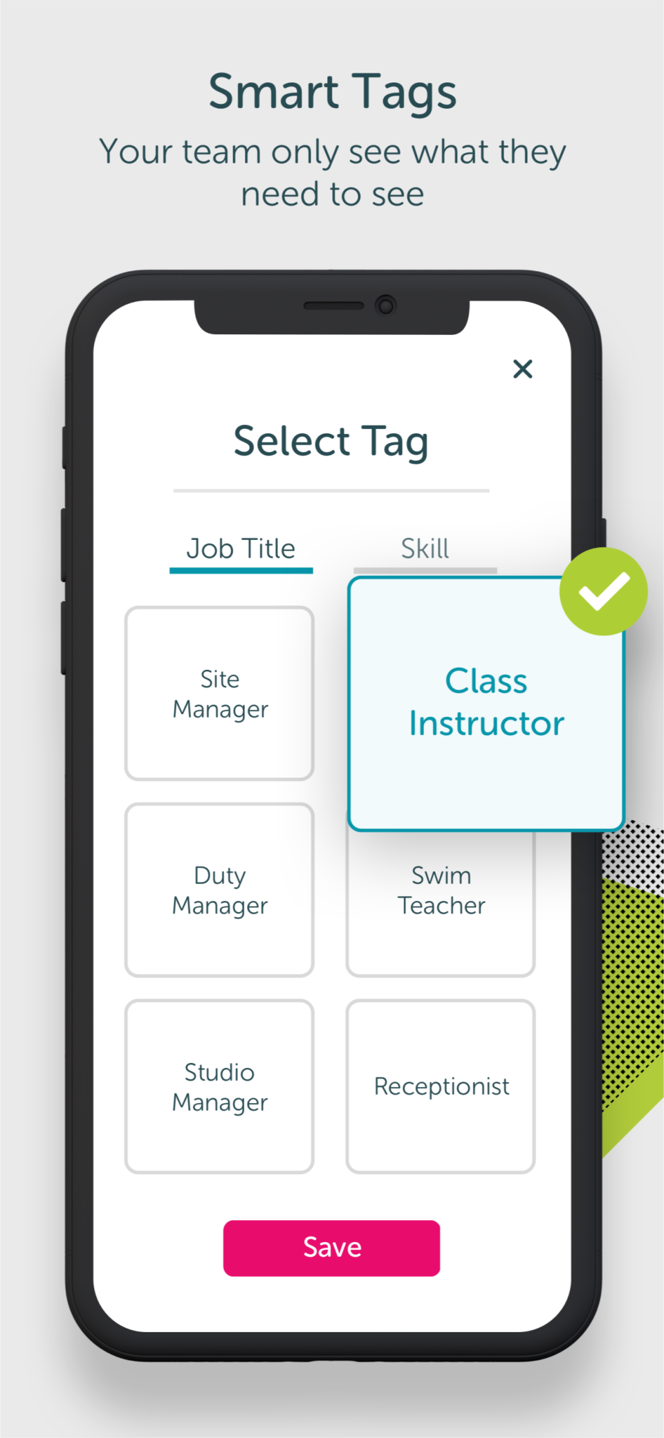 OurPeople Software - Smart Tags