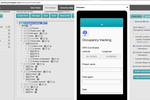 Poimapper screenshot: Easy to use mobile form builder with a preview feature
