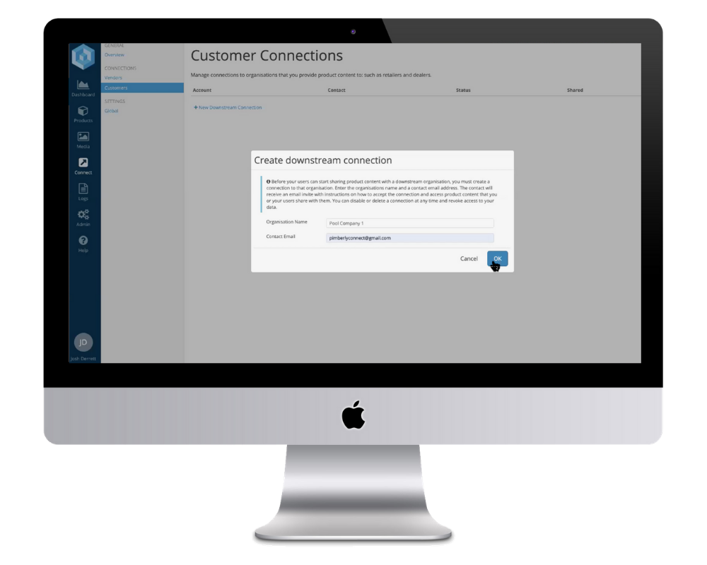 Our Customer Connect Module
