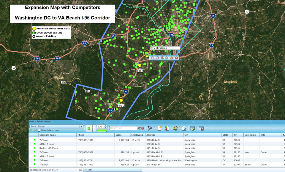 MapBusinessOnline Software - 2