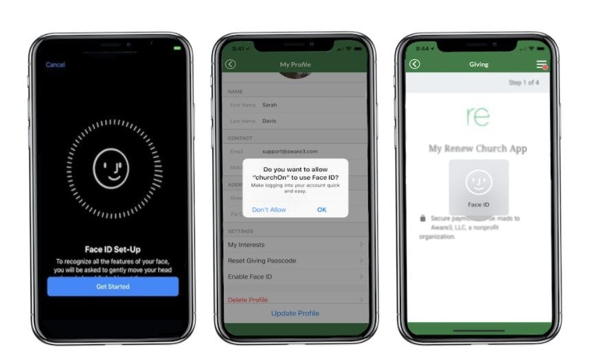 Aware3 Software - Face ID