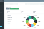 ScaleGrid screenshot: Use the MongoDB cluster disk size visualization to monitor storage space