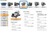 Capture d'écran pour Cincom CPQ : TruckDemo-Engines