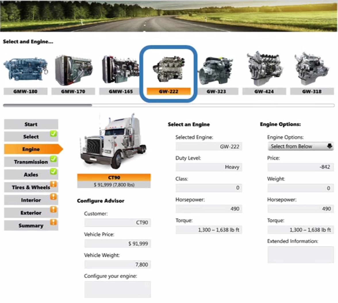TruckDemo-Engines